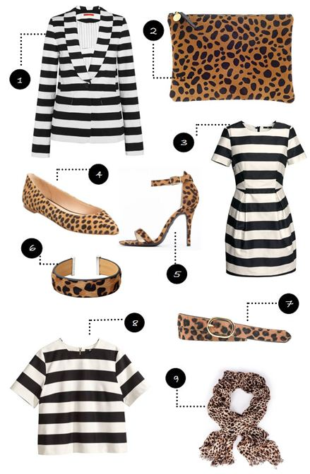 How to wear animal prints on City Southern Blog