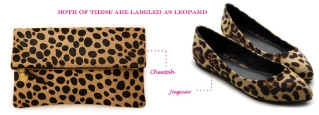 {Mislabeled Animal Prints!} Learn the difference between animal prints on City Southern Blog! city southern.wordpress.comabeled Animals