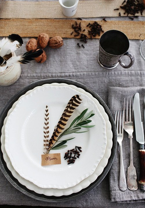 KaraRosenlund Fall Place Setting